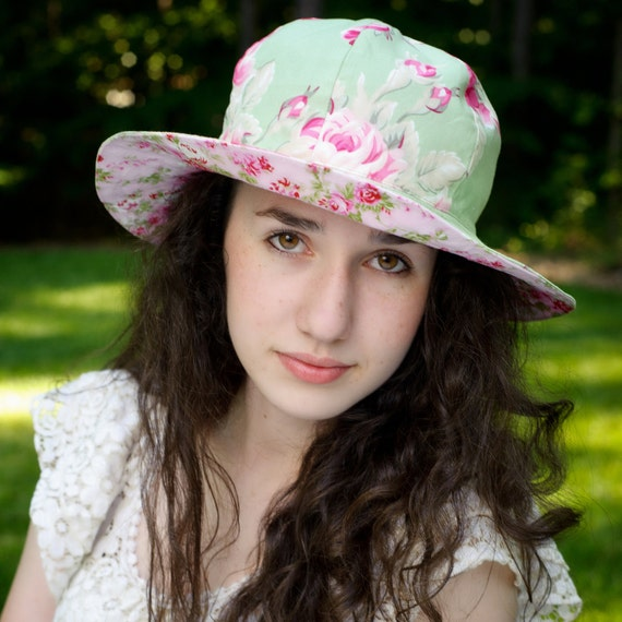 Womens Sun Hat Pattern - Sewing Pattern PDF