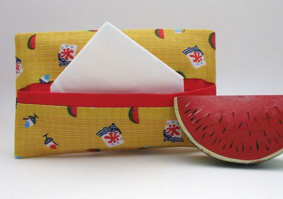 Watermelon Tissue Holder