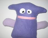 Purple Monster Plushie