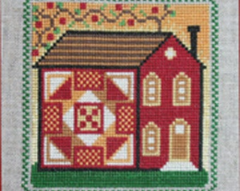 Quilt and Vine House 1 PDF Pattern