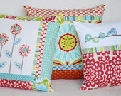 Sewing Pattern PDF - Patchwork Pillows I