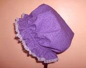 Mob Dust Cap Purple Vines Women Lass