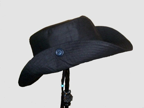 """Hat Boys Black Outdoor Adventurer Rough and Ready Black 20"""" 22USD"""