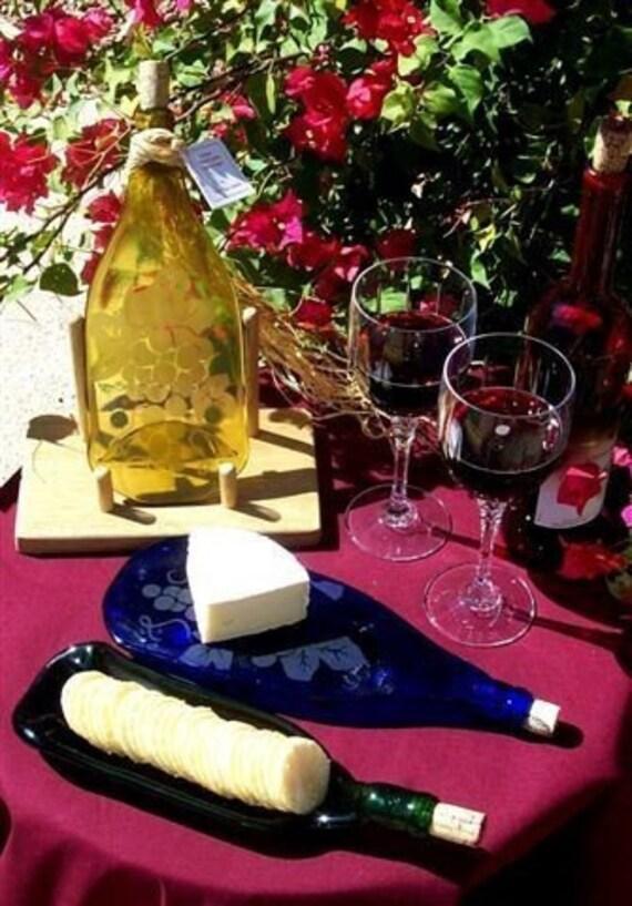 Grape Design Wine Bottle Trivet
