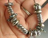 Lampwork Glass Beads Triton Mixed Set  by Catalina Glass SRA