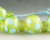 A Summer Day  13 Lampwork Beads by Catalina Glass