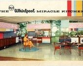 RCA Whirlpool Miracle Kitchen 1957 - 18 page brochure VINTAGE ORIGINAL
