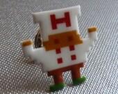 fry guy - burger time pin