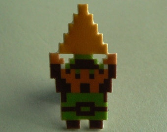 hyrule hero - link with triforce pin