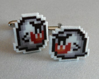 don't look now - super mario 3 cufflinks