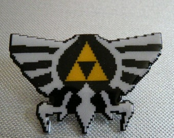 may the (tri) force be with you - zelda pin