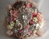 The Lillybuds Cottage Glamour Wedding Bouquet