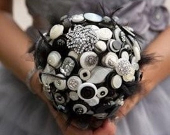 The Holly Golightly Button Bouquet