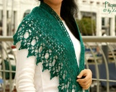 Piquant Crocheted Shawl in PDF File