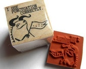 I Use Punctuation Correctly -- rubber stamp