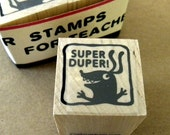 Super Duper - Monster rubber stamp for teachers