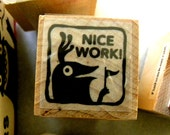 Nice Work - Monster rubber stamps for teachers
