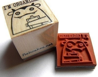 I'm Organized -- rubber stamp