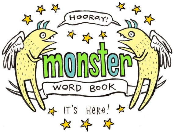 Monster Word Book