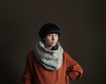 The Nantucket Cowl in Toasted Marshmallow