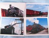 Railroad Photo Note Card Set - 4 card assortment