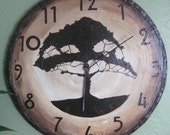 Large Craftsman Style Wall Clock