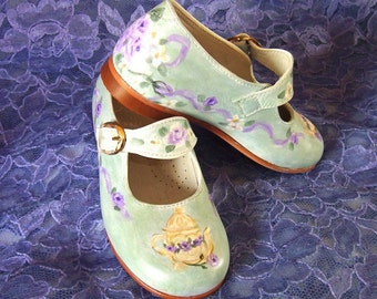 Shoes Toddler Maryjanes Handpainted