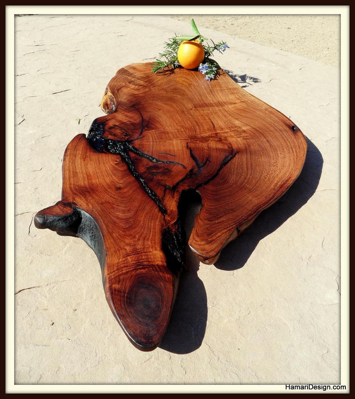 Natural Mesquite Wood Cutting Board Or Serving By Jonihamari