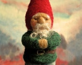 PDF Felt Gnome Instruction - Make your own soft sculptural Gnome - instant download
