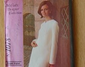 Womens Vintage 1969 Dress in Three Versions McCalls 1078 Sewing Pattern Size 10 Bust 32.5