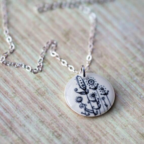 Luminous - A tiny pendant necklace