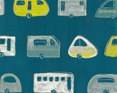 the caravan exhibition (blue and yellow)
