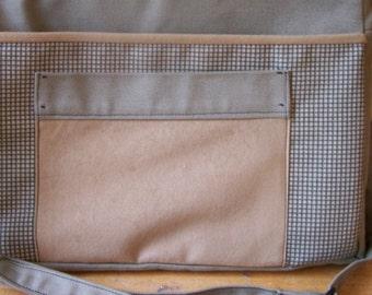 Messenger Laptop Tote Bag