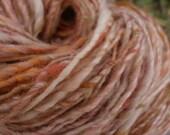 Dulce de Leche handspun yarn (100 yards, 3.2 oz, aran)