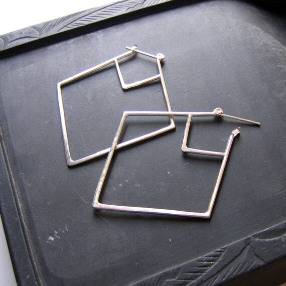 diagonal diamonds / large
