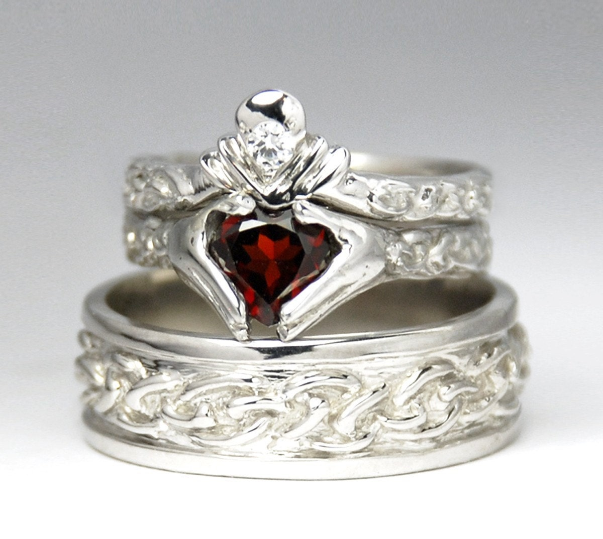 claddagh engagement ring - photo #41