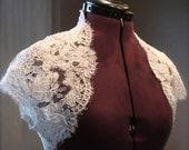 The Lacey Bridal Shrug- White or Ivory