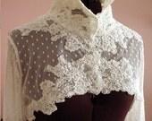 Grace Bridal Jacket - White or Ivory