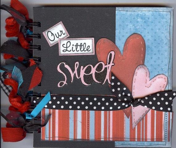 SALE - OUR LITTLE SWEETHEART mini book KIT Version B