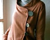 Rusty asymmetrical Coat