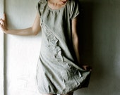 Sage Linen Tunic Dress