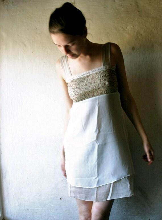 Romantic Ecru Dress