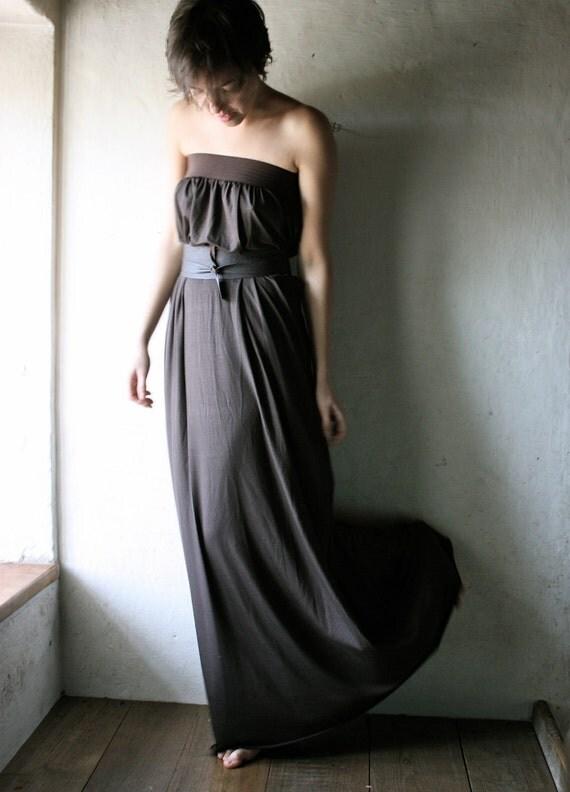 Long Jersey Tunic Dress - Custom made