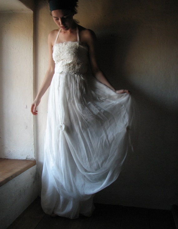 White custom dress RESERVED FOR KHLOEGIRL