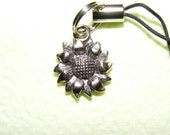 Cell Phone Charm Sunflower