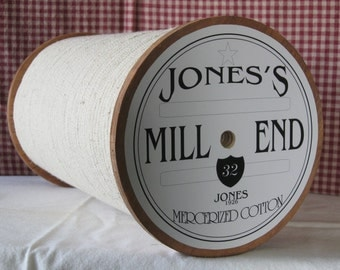 Large Tall Country Thread Spool (NEW PRICE)