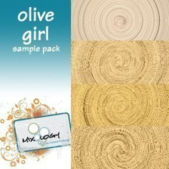 Olive Girl Sample Pack - Find Your Mineral Foundation Shade and End the Trauma