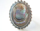 Pacific Abalone Vintage Mermaid Ring