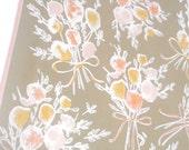Little Bouquets - a vintage 1970's Vera Neumann hand-painted scarf
