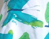 Vera Neumann Shirt - Flight of Fancy Butterflies - a rare, vintage Cotton Halter Top Shirt